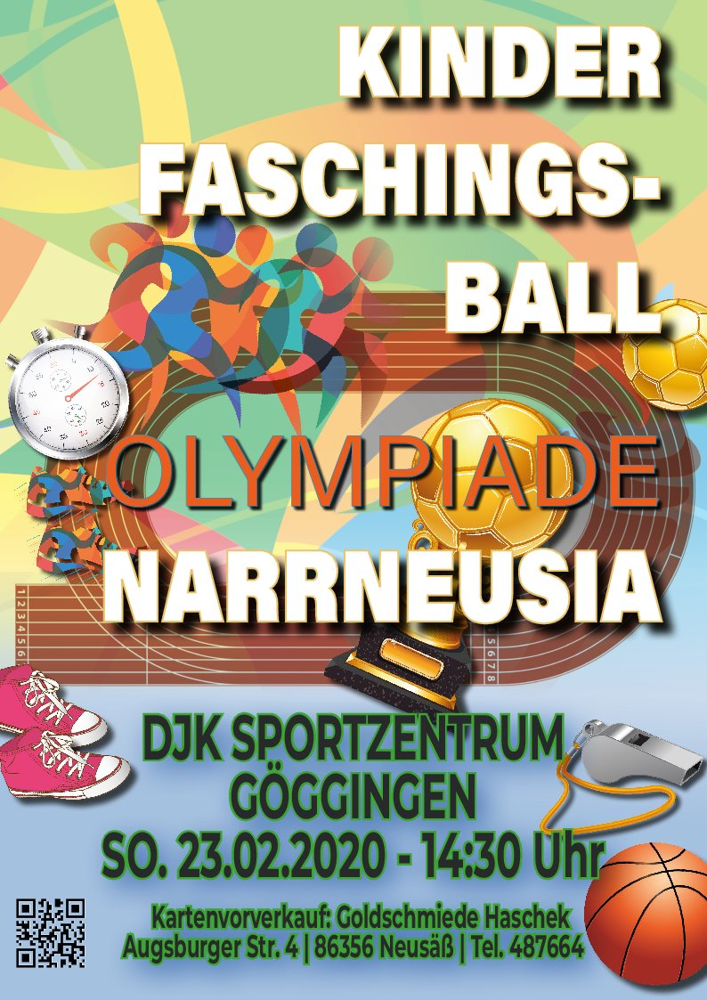 Kinderfaschingsball 23.02.2020